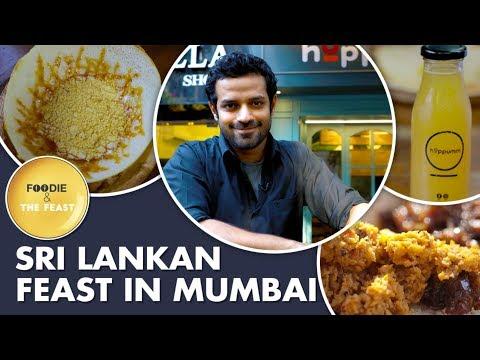Sri lankan feast in mumbai | hoppumm restaurant bandra | foodie & the feast mp3
