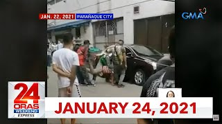 24 Oras Weekend Express: January 24, 2021 [HD]