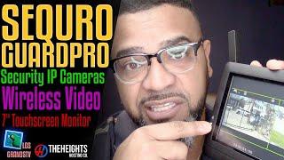 #Sequro GuardPro DIY Surveillance System 📹 : #LGTV Review