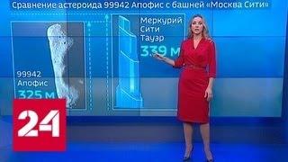 В ближайшие 50 лет с землей может столкнуться астероид Апофиз - Россия 24