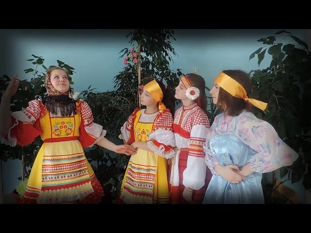 Изображение предпросмотра прочтения – ЛарисаКалиниченко читает произведение «Русский фольклор. Докучные сказки» (Русский фольклор )
