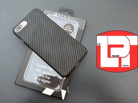 coque adequat iphone 8