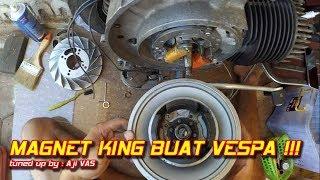 Video Cara Pasang Magnet RX King ke Vespa || Aji VAS download MP3, 3GP, MP4, WEBM, AVI, FLV Oktober 2018