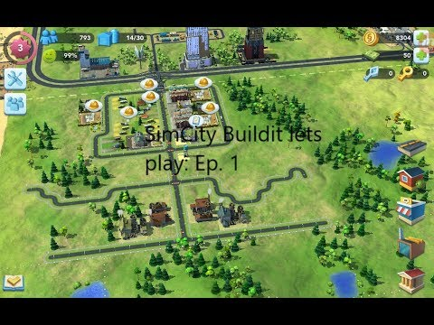 Simcity Build it lets play Episode 1 -  inflatable flapping tube man! -