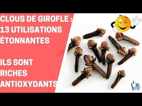 CLOUS DE GIROFLE 13 UTILISATIONS ÉTONNANTES, ILS SONT RICHES ANTIOXYDANTS---