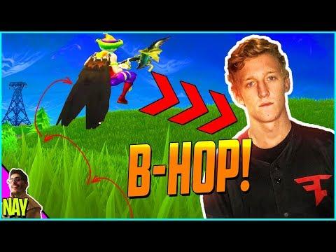How To Bunny Hop in Fortnite Battle Royale Like FaZe TFUE!