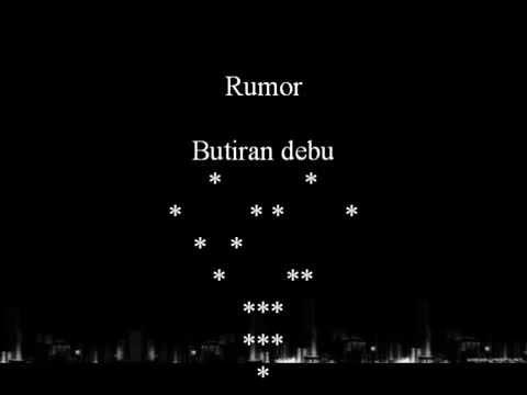 Rumor - butiran debu (With Lyrics)
