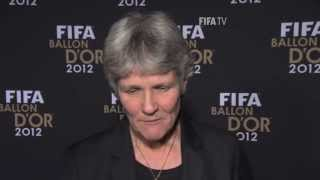 Sundhage on winning FIFA Women's Coach of the Year