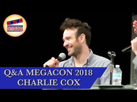 Q&A Panel w Charlie Cox Daredevil @ MegaCon Orlando 2018