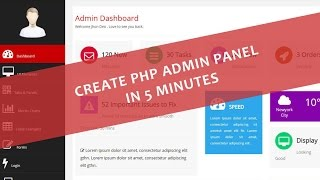Create PHP Admin Panel In Just 5 Minutes Mp3