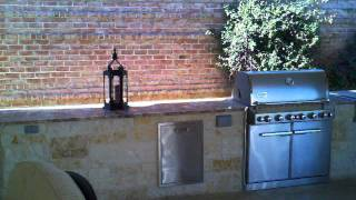 Colleyville Patio Builder Awesome Cabana With Outdoor Fireplace