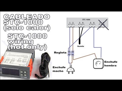 Cableado Termostato STC1000  STC1000 wiring  YouTube