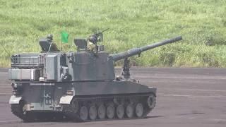 平成30年度富士総合火力演習総合予行前段演習