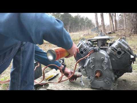 Subaru-Robin V-twin 2 cylinder 26HP horizontal engine for sale/trade