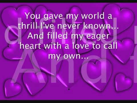 Taylor Dayne - I'll Always Love You {With Lyrics}