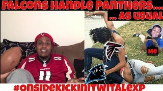 Falcons handle Panthers once again- Falcons Review - Onside Kickin It Wit Alex P.