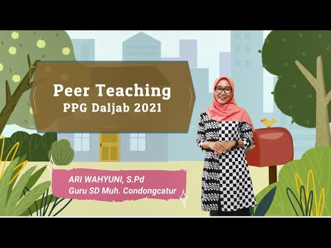 Peer Teaching Daring PPG Daljab 2021
