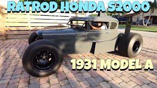 Insane 1930 Ford Model A Ratrod - Ricky Boada & Generation Oldschool