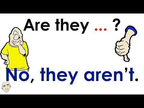 Are They...? | Plural Form Questions | Easy English Conversation Practice | ESL
