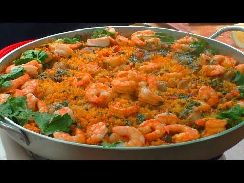 паэлья с морепродуктами рецепт в домашних условиях
