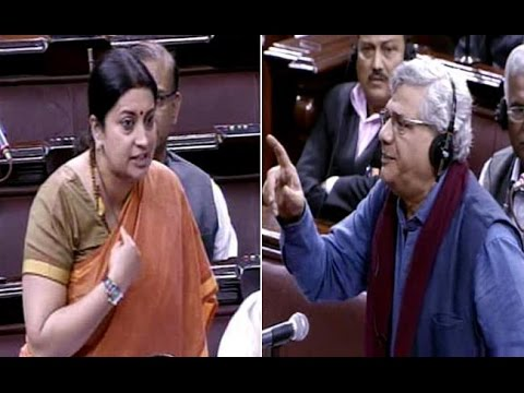 Sitaram Yechury Issues Privilege Motion Against Smriti Irani