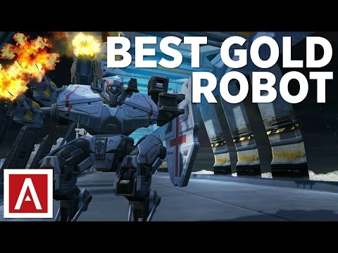 War Robots [WR] Tutorial - BEST Robot For GOLD
