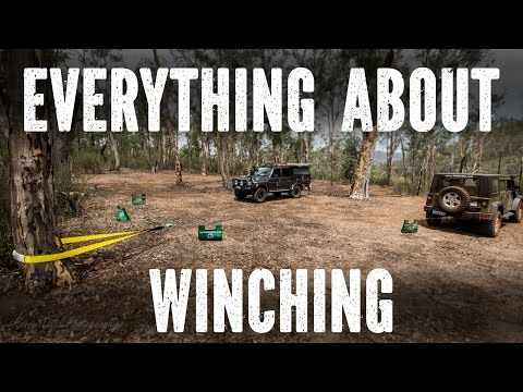 Winching techniques beginners to Advanced