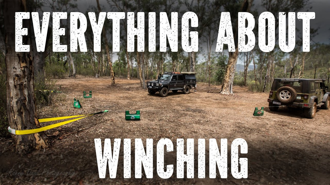 Winching techniques beginners to Advanced - YouTube