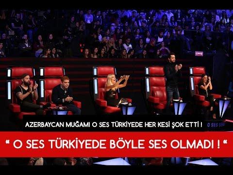 AZERBAYCANLI MUĞAM İLE O SES TÜRKİYEDE HER KESİ ŞOK ETTİ !!!