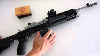Ruger Mini14 with the Scar Chassis