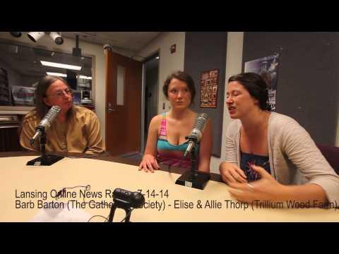 Lansing Online News Radio - Barb Barton - Allie & Elise Thorp