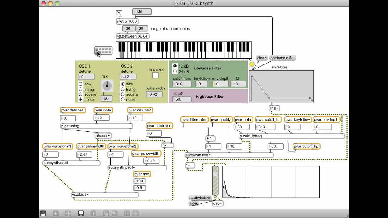 MSP Tutorial 7: Additive Synthesis - Cycling 74 - Max