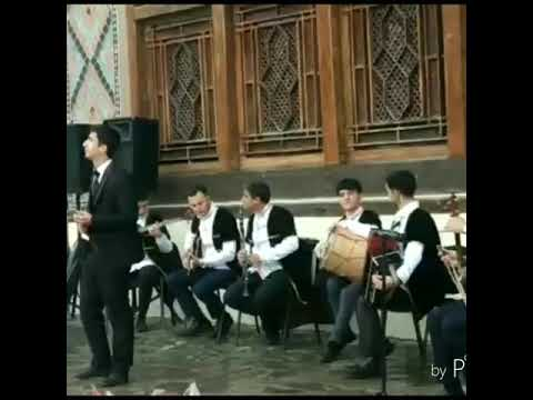 """Namiq Hacıyev Qarmon (Şəkili) Konsert Zamanı Qısa Bir Solo Elza İbrahimova """"Gecələr Bulaq Başı"""""""