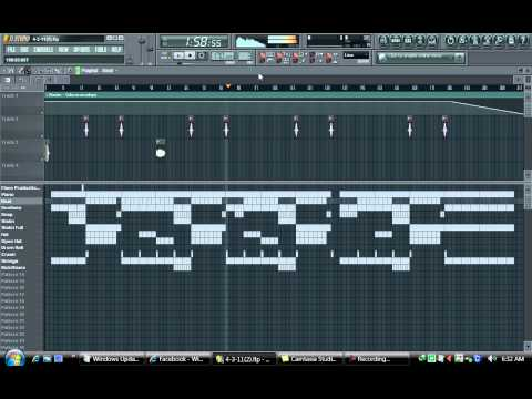 Sad Piano Violin Beat Fl Studio 2011 - (Based On Eminem's Mockingbird)