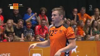 Handball Netherlands - Sweden. 2019 Men