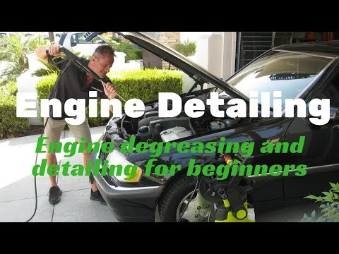 Engine Detailing for Beginners: Tips and tricks with Darren