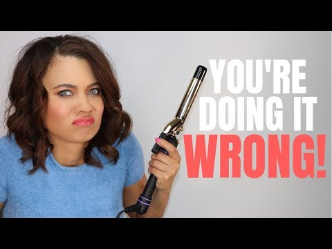 HOW TO CURL YOUR HAIR LIKE A PRO! TIPS + TROUBLESHOOTING!| Brittney Gray