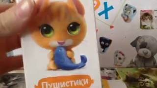 Распаковка коробочек Sweet Box .Собрала 1 коллекцию котят !!!!