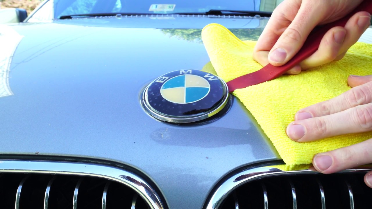 Bmw Hood Roundel Badge Removal And Installation Diy E46