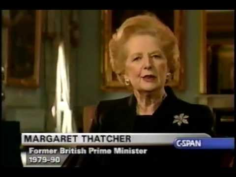 margaret thatcher eulogy to ronald reagan