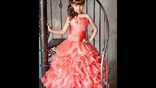 Праздничные платья для девочек 5 лет - 2017 / Festive dress for girls 5 years(, 2015-11-27T17:16:21.000Z)