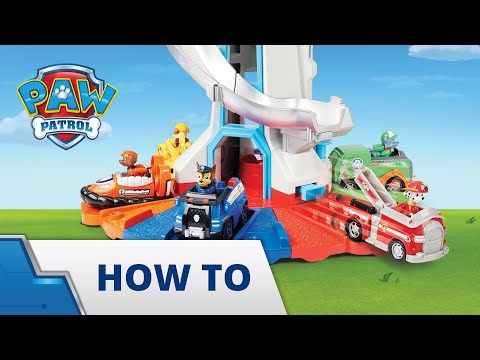 PAW Patrol | How To Play With Your My Size Lookout Tower