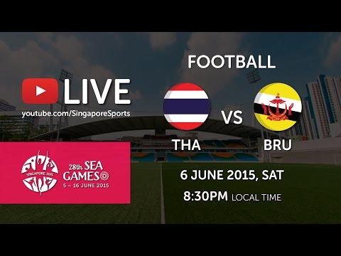 Football Thailand vs Brunei (Bishan stadium) | 28th SEA Games Singapore 2015