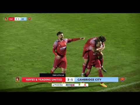Hayes & Yeading v Cambridge City - 31st Oct 2017
