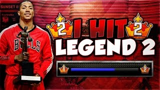 NBA 2k16 MyPark : I HIT LEGEND 2!! | HOW TO WIN FREE GRAPHICS