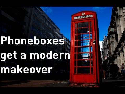 Phoneboxes given new lease of life