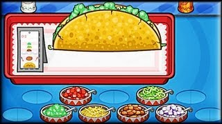 Papa's Taco Mia - Game Preview (First Day Tutorial)