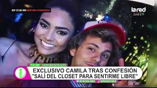 """""""No me siento avergonzada"""": Camila Recabarren habló con Intrusos tras su confesión amorosa"""