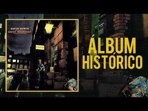 ÁLBUM HISTÓRICO:  DAVID BOWIE THE RISE AND FALL OF ZIGGY STARDUST AND THE SPIDERS FROM MARS