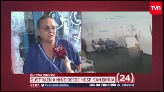 TVN - ÚLTIMO MINUTO - Secuestro de menor desde hospital